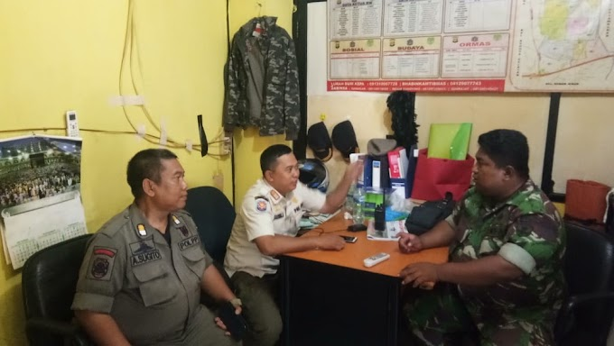 Kegiatan Komsos Mencerminkan Rasa Kemanunggalan TNI Kuhususnya Babinsa