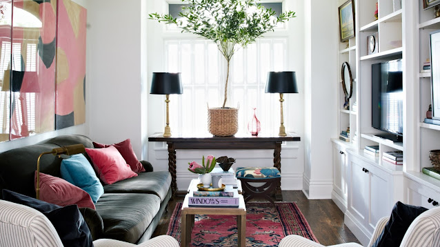 interior design for small living room and dining