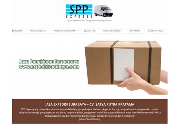 Website Jasa Pengiriman Barang Murah di Surabaya