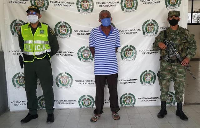 hoyennoticia.com, Hombre de 61 años capturado por delito de acceso carnal abusivo con menor de 14 años.