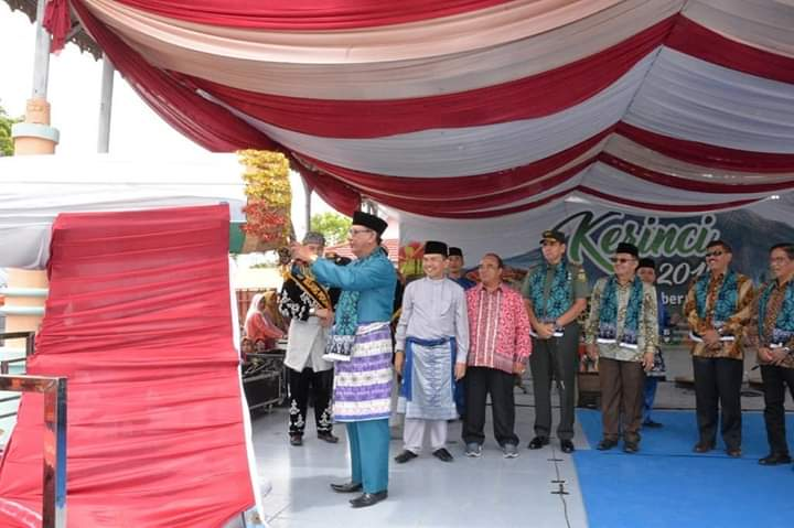 Pembukaan Festival Kerinci Berlangsung Meriah