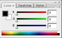 Mengenal Fungsi Pallete pada Photoshop, fungsi palet color