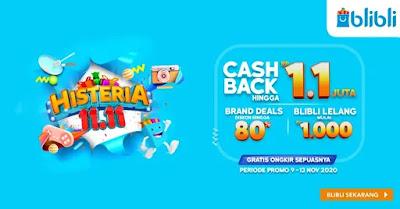 Best Deals di Blibli Histeria 9 November yang Wajib Dibawa Pulang