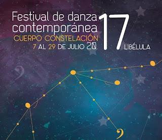 FESTIVAL DE DANZA CONTEMPORÁNEA DE LA LIBÉLULA DORADA 2017