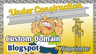 Cara Custom Domain Blogspot Niagahoster