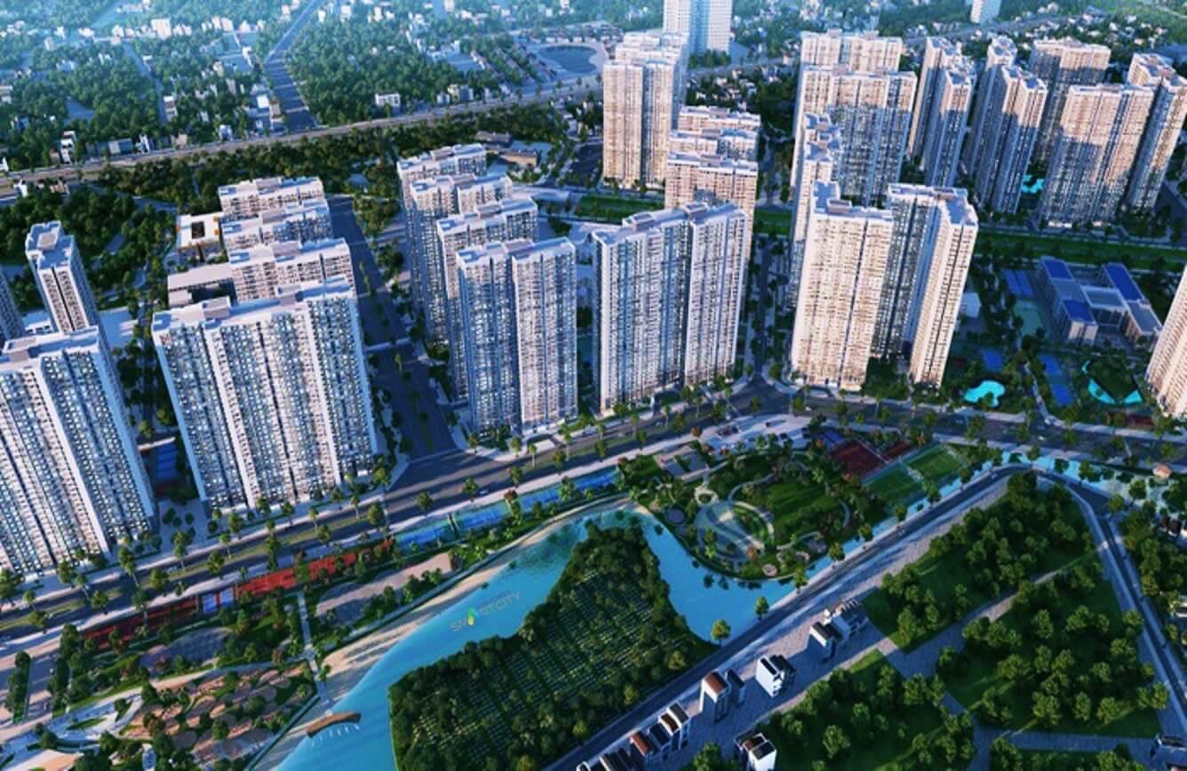 Phối cảnh đại đô thị thông minh đầu tiên tại Việt Nam