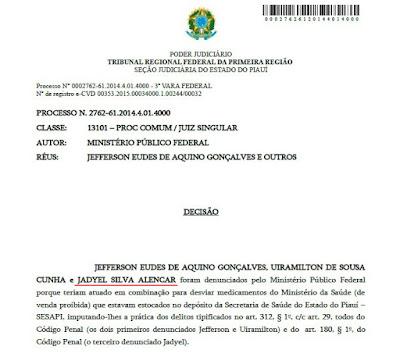Denúncia cita titular da empresa que contratou com a Prefeitura de Chapadinha