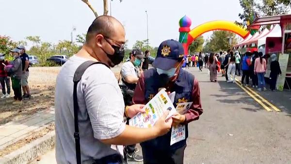 田中警分局結合彰化縣植樹活動 交通及婦幼安全宣導