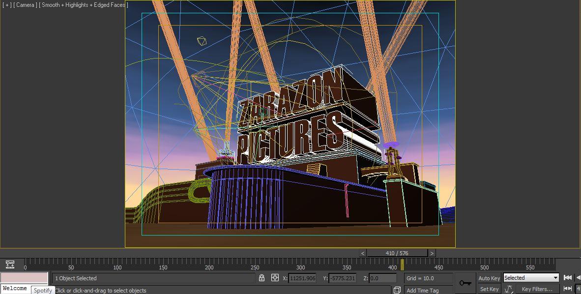 Ma Animation Work In Progress Imitating The 20th Century Fox Intro