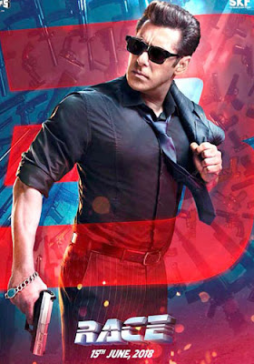 Race 3 2018 Hindi Pre-DVDRip 400Mb x264 New