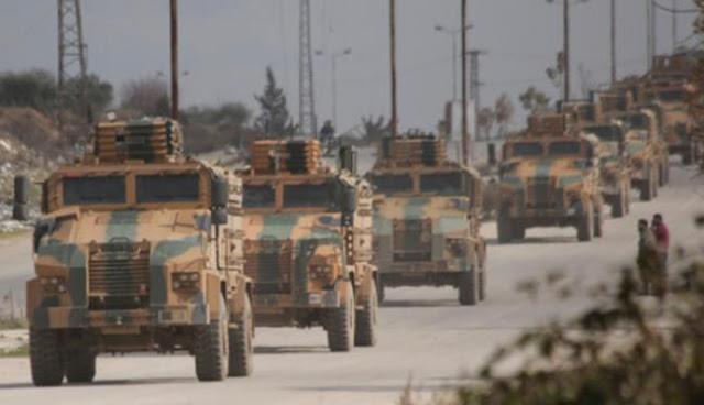 Άτακτη υποχώρηση των Τούρκων από την Ιντλίμπ