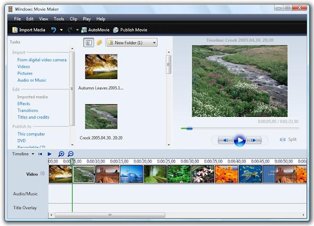 تحميل برنامج موفى ميكر Windows Live Movie Maker للكمبيوتر