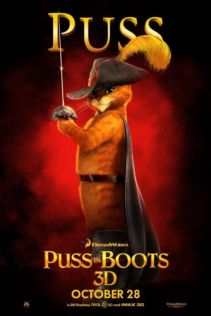 Puss In Boots 2 Movie Poster