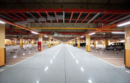Hầm để xe thông minh tại Florence