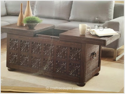 COSTCO COFFEE TABLE;Costco Coffee Table Storage