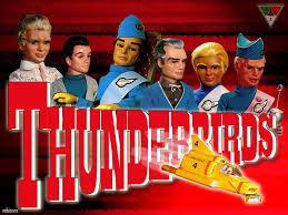 the thunderbirds,kapal terbang hebat