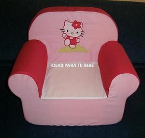 Sillon infantil hello kitty