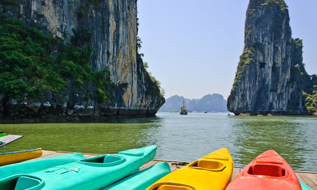 Vietnam among world's best places to go sea kayaking