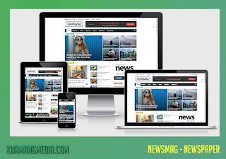 Download NewsMag Magazine WordPress Theme