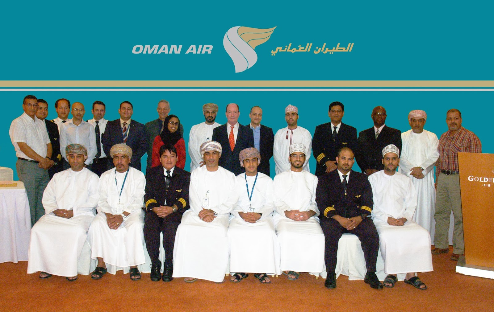 High Fliers Commended At Oman Air Event