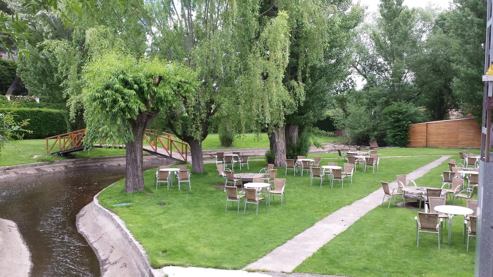 Restaurante el Molino de la Losa - Jardin