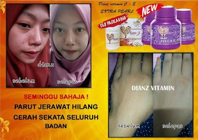 Dian Vitamin C & E Extra Pearl Murah (New Formula)