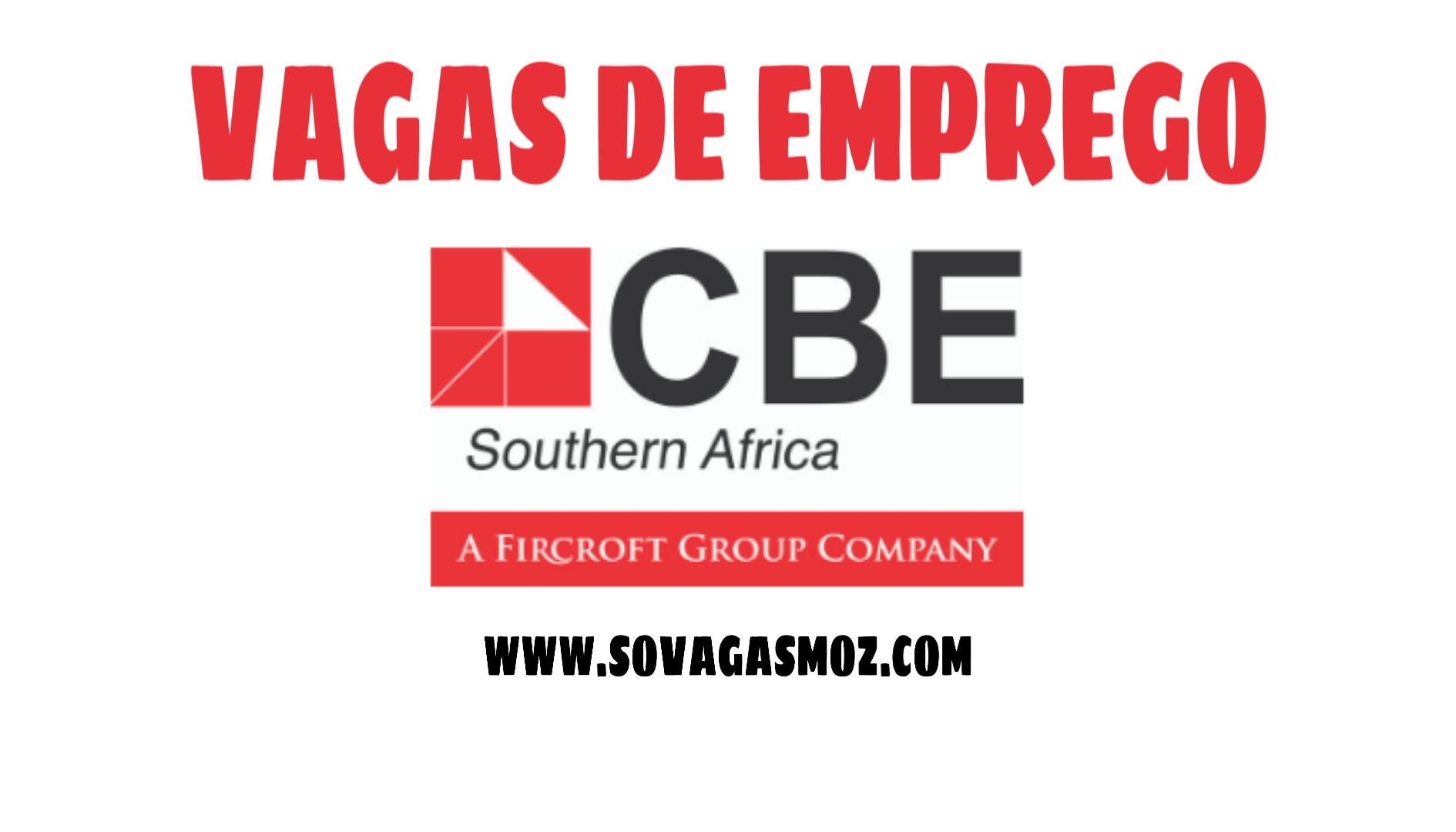 Sovagasmoz - Recrutamento CBE Southern Africa