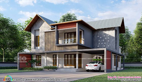 4 bedroom beautiful house architecture
