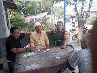 Jalin Ukhuwah Islamiyah, Babinsa Koramil 17/DB Komsos Ketua BKM Masjid Asalim