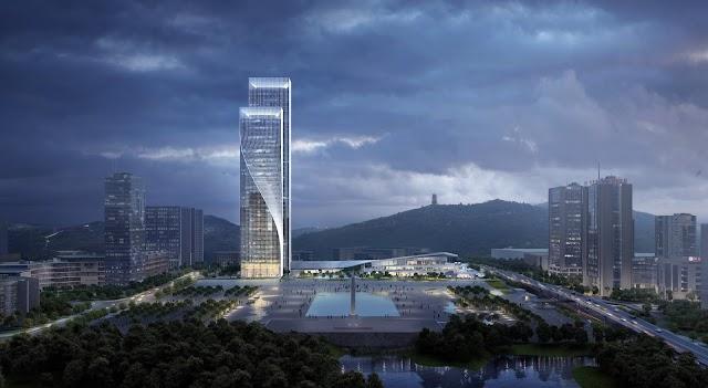 Tòa tháp xoắn nhất thế giới với mệnh danh vũ điệu ba lê của ánh sáng