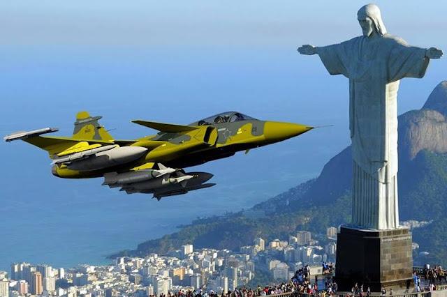 Saab starts manufacturing Gripen Brazil
