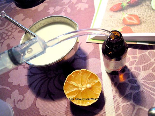 Prélèvement de l'acide lactique - Smoothie de Douche - Blog beauté Les Mousquetettes©
