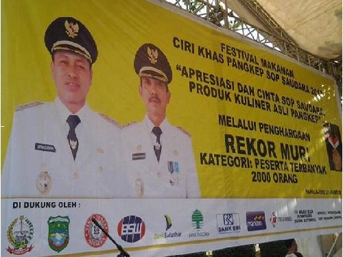 Foto Foto Festifal Sop Saudara Pangkep