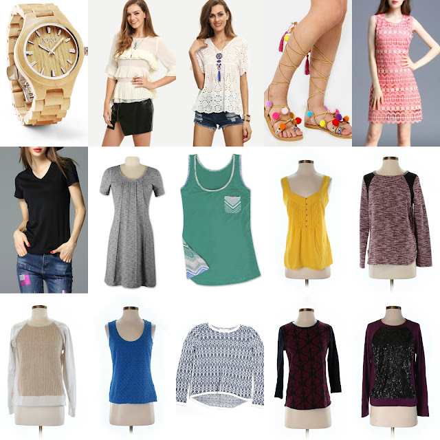 june 2016 clothing budget post