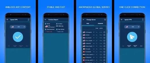 برنامج Speed VPN  لفتح المواقع المحجوبة