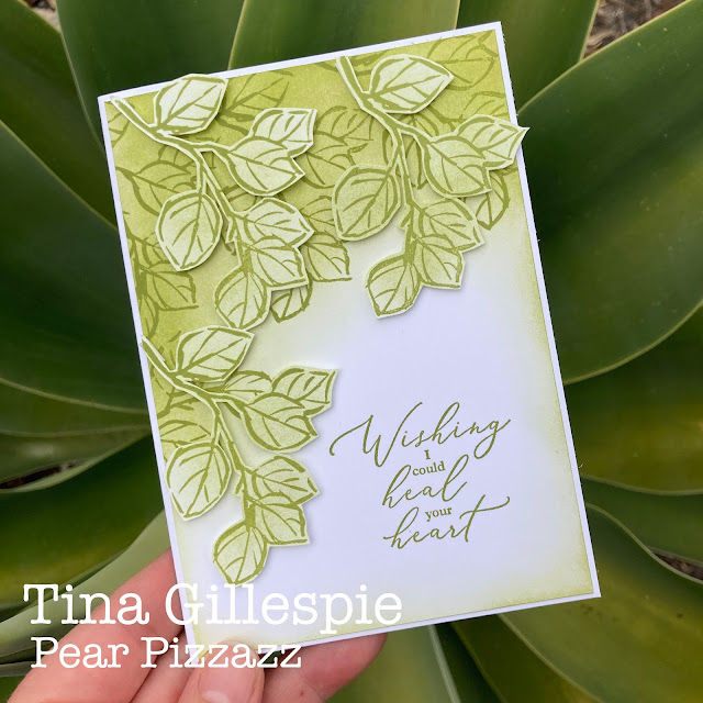 scissorspapercard, Stampin' Up!, Colour Creations, Heal Your Heart, A Touch Of Ink, Sale-A-Bration, Sympathy Card