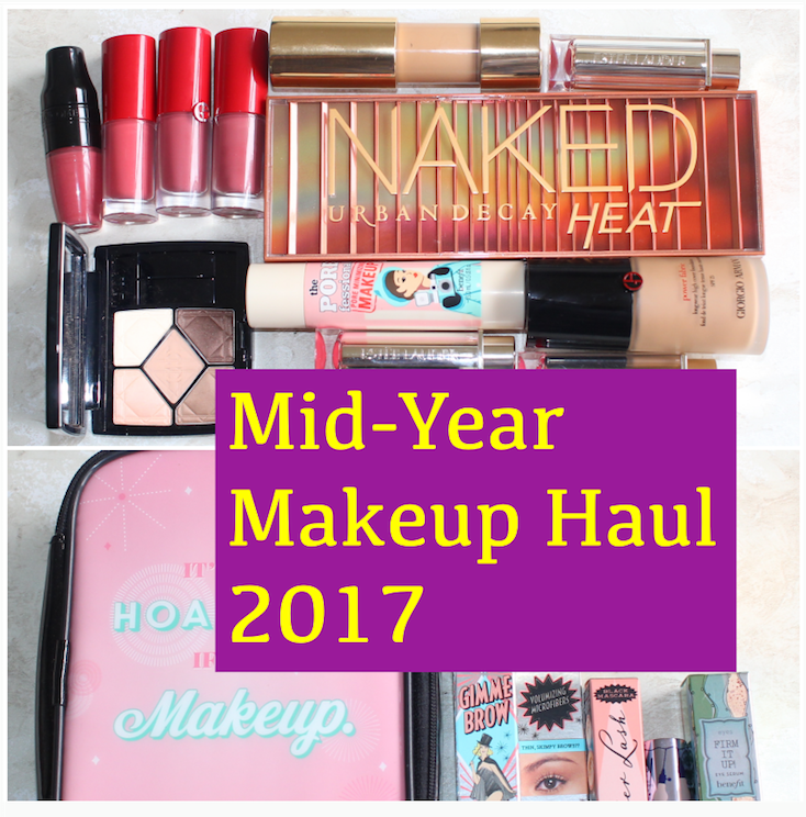 Here's my mid-2017 makeup haul from Harvey Nichols, Selfridges, and Debenhams.