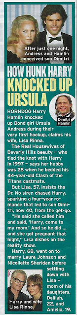 Harry Hamlin, as seen in the gossip magazines (Source: Globe Magazine, Sept 7, 2020)