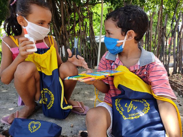 ONGs de Caruaru receberão apoio da LBV com kits pedagógicos