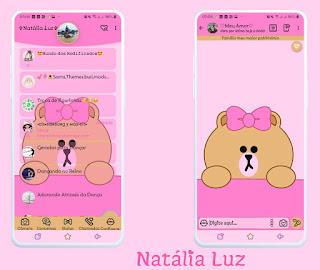Alone Teddy Bear Theme For YOWhatsApp & Fouad WhatsApp By Natalia Luz