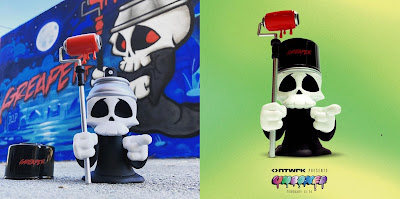 Greaper Vinyl Figure by Sket One x I am Retro