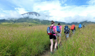 Starting point Climb Mount Rinjani from Sembalun Lawang