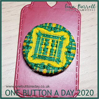 One Button a Day 2020 by Gina Barrett - Day 32 : Entangle