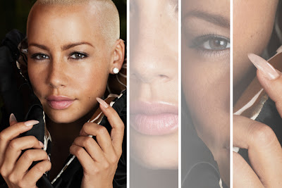 Amber Rose Fuchsia Nails | Steal Her Style |Stiletto Nails Amber Rose