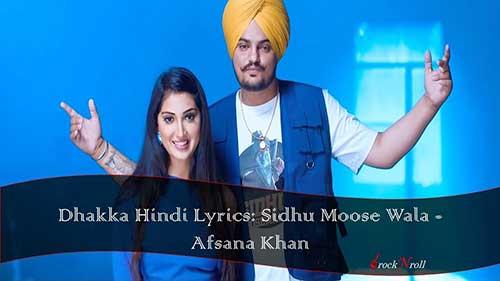 Dhakka-Hindi-Lyrics-Sidhu-Moose-Wala-Afsana-Khan