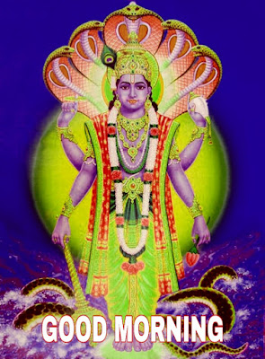 good morning god vishnu images