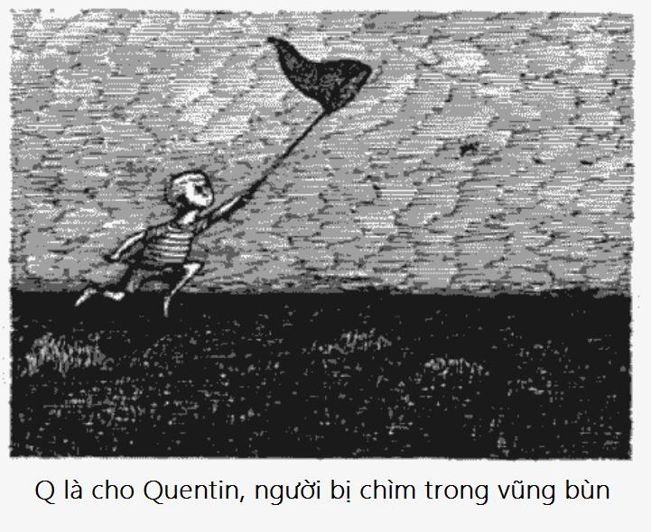 Q bang chu cai rung ron