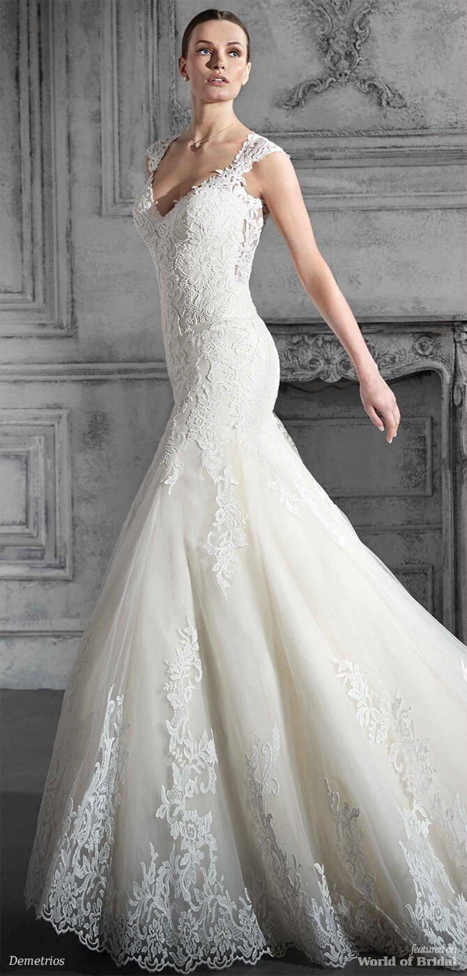 Demetrios 2018 Wedding Dresses - World of Bridal