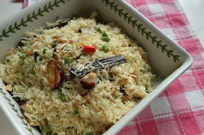 Nasi Goreng Nasi Ayam,Boleh Try