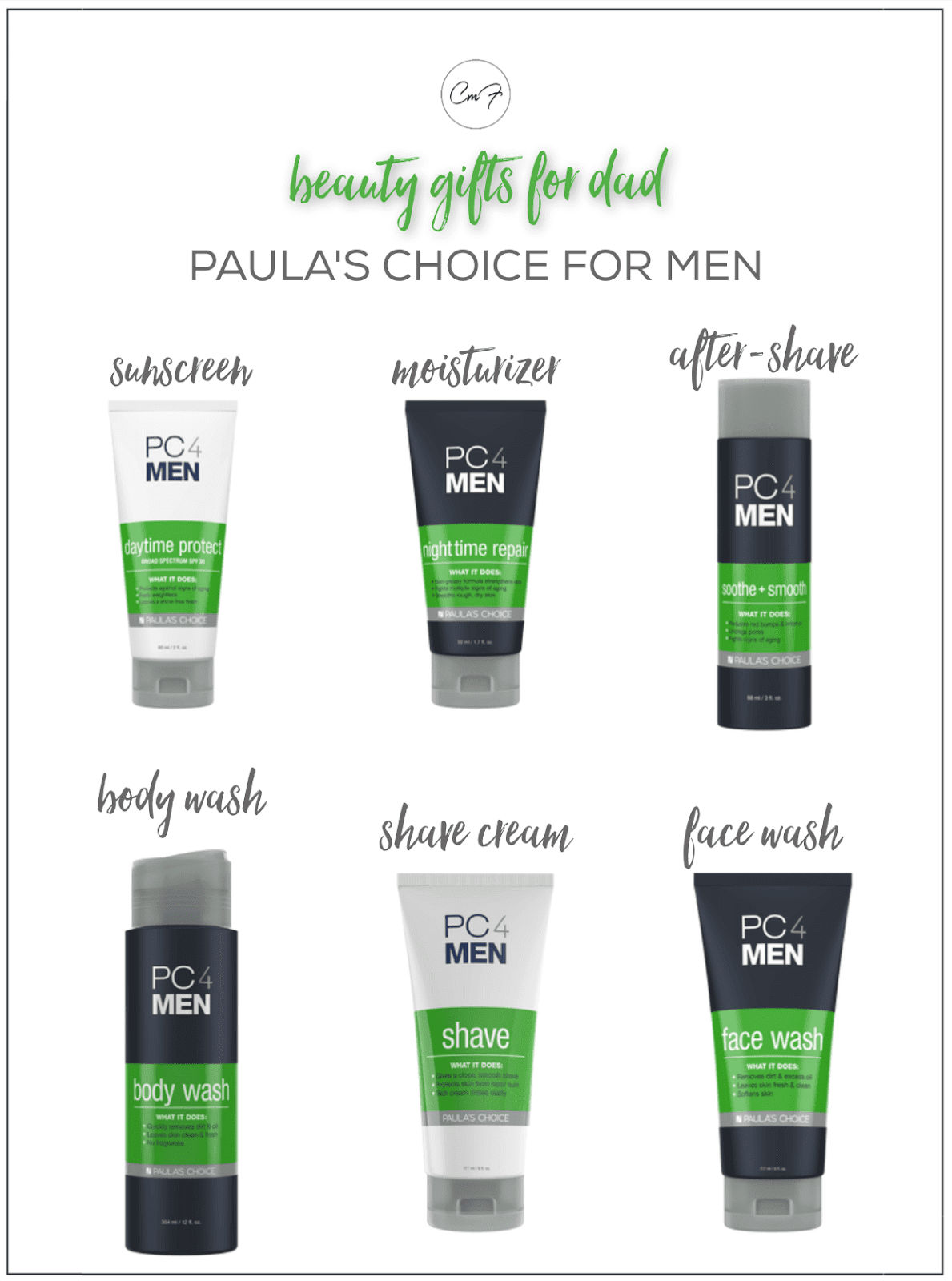 paula's choice men's line